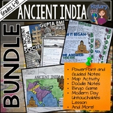 Ancient India Bundle{PowerPoint,Guided Notes,Memory Game,Flashcards and More!}
