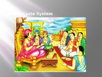 Ancient India Caste System Powerpoint