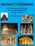Ancient India, China, and North America Interactive Notebook