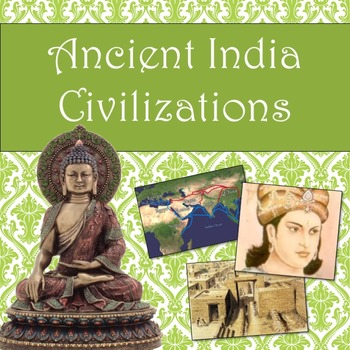 Ancient India Civilizations guided PowerPoint lesson