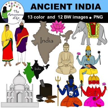 Ancient India Clip Art