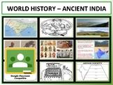 Ancient India - Complete Unit - Google Classroom Compatible