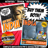 Ancient India Complete Unit and Google Ready Combined Activity Bundle