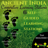 Ancient India - Cooperative Learning Stations