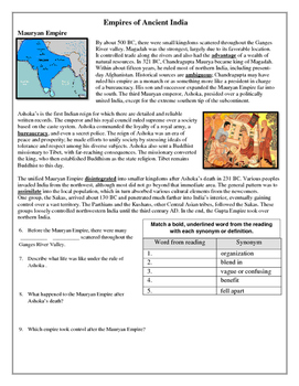 Empires of Ancient India: Mauryan and Gupta