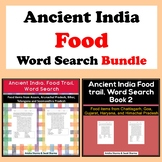 Ancient India Food, Word Search Bundle