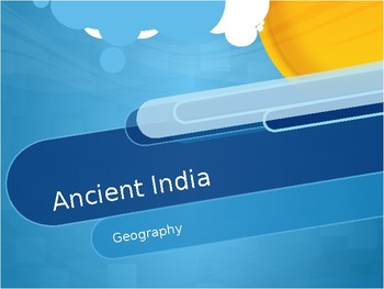 Ancient India Geography Presentation