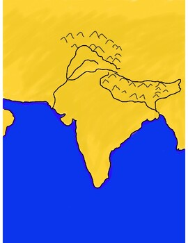 Ancient India Geography activity