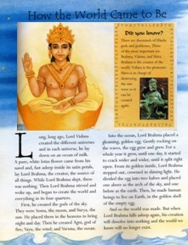 Ancient India - Hindu Creation and Traditional Stories