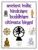 Ancient India, Hinduism, Buddhism Ultimate Classroom Bingo Game!