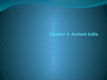 Ancient India- Hinduism and Buddhism PowerPoint
