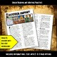 Ancient India Historical Snapshot Close Reading Investigation