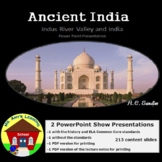 Ancient India & Indus River Valley Teaching Unit PowerPoint Presentation Bundle