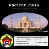 Ancient India & Indus River Valley Teaching Unit PowerPoint Presentation Bundle