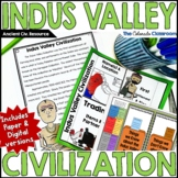 Ancient India Indus River Valley Civilization | Print and DIGITAL