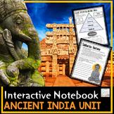 Ancient India Interactive Notebook | Google Classroom History Social Studies