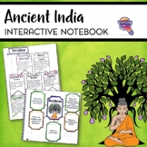 Ancient India Interactive Notebook Unit 6th Grade INB Hind