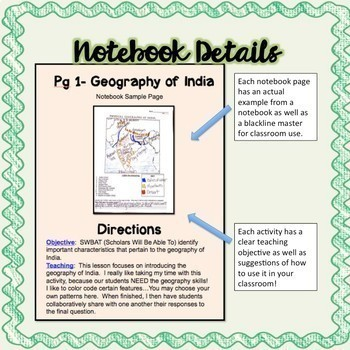 Ancient India Interactive Notebook and Resource Bundle