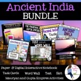 Ancient India Activities Unit Bundle