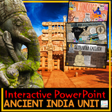 Ancient India PowerPoint Interactive and Google Slides