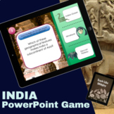 Ancient India Interactive PowerPoint Game