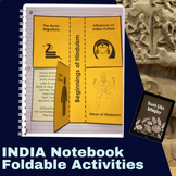 Ancient India Interactive Student Notebook Foldables