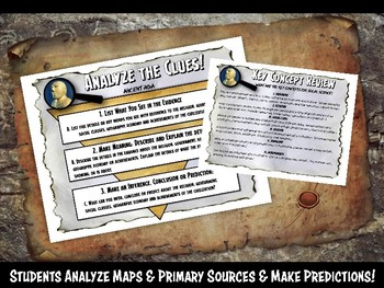 Ancient India Investigation History Lesson Stations or Presentation