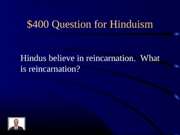Ancient India Jeopardy Review Game