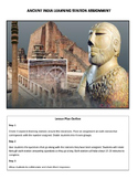 Ancient India (South Asia) Learning Station Assignment
