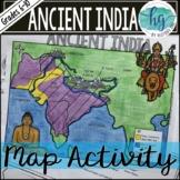 Ancient India Map Activity (Print and Digital)