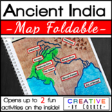 Ancient India Map Foldable for Interactive Notebooks