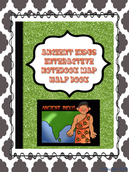 Ancient India Map Foldable - Interactive Notebook Activity