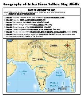 Ancient India: Map Skills