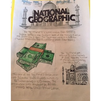 Ancient India- National Geographic Cover Project