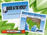 Ancient India Physical Geography Class GAME: World Scavenger Hunt Activity