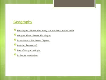 Ancient India Powerpoint