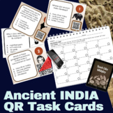 Ancient India QR Code Task Cards
