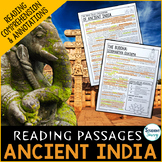 Ancient India Reading Passages - Questions - Annotations