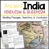Ancient India Religious Beliefs Hinduism and Buddhism PDF Printable