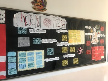 Ancient India Research Display Activity