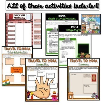 Ancient India Resource Bundle {Digital}