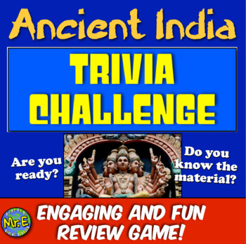Ancient India Review! Students Play Jeopardy-like Game to Review India!
