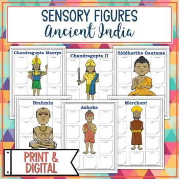 Ancient India Sensory Figures