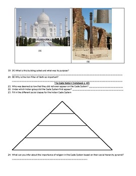 Ancient India Study Guide