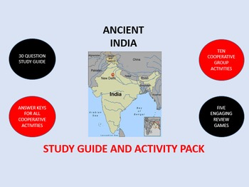 Ancient India: Study Guide and Activity Pack