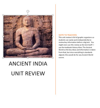Ancient India Test Review