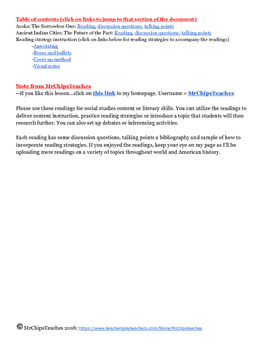 Literacy - Ancient India (Text Set)