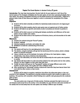 caste system worksheet free worksheets library download and print worksheets free on comprar. Black Bedroom Furniture Sets. Home Design Ideas