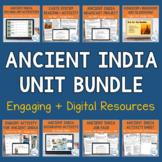 Ancient India Unit Activity Bundle