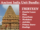 Ancient India Unit Bundle - 13 Resources; 130 Pages of Material!